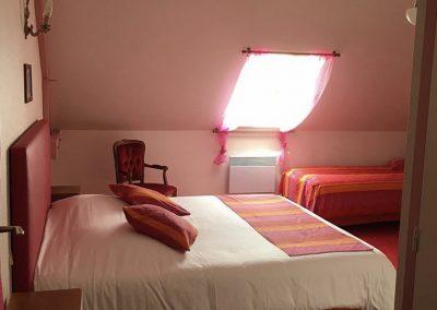 la maugerie chambres d'hôtes rose